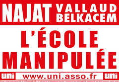 Najat Valaud Belkacem - l'école manipulée
