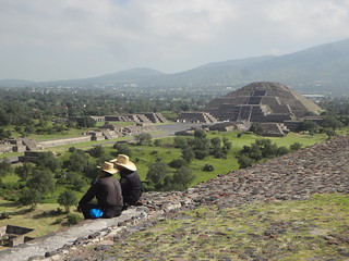 Pirâmide da Lua Teotihuacan