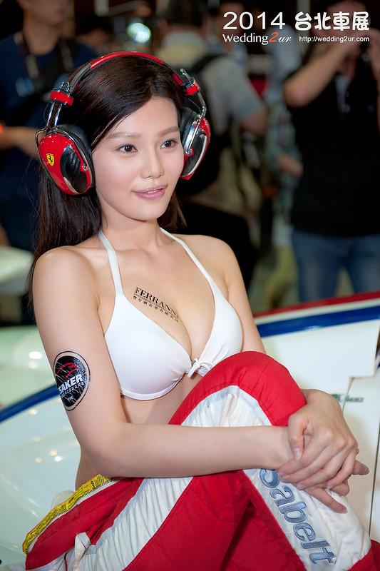 2014台北車展 show girl,52