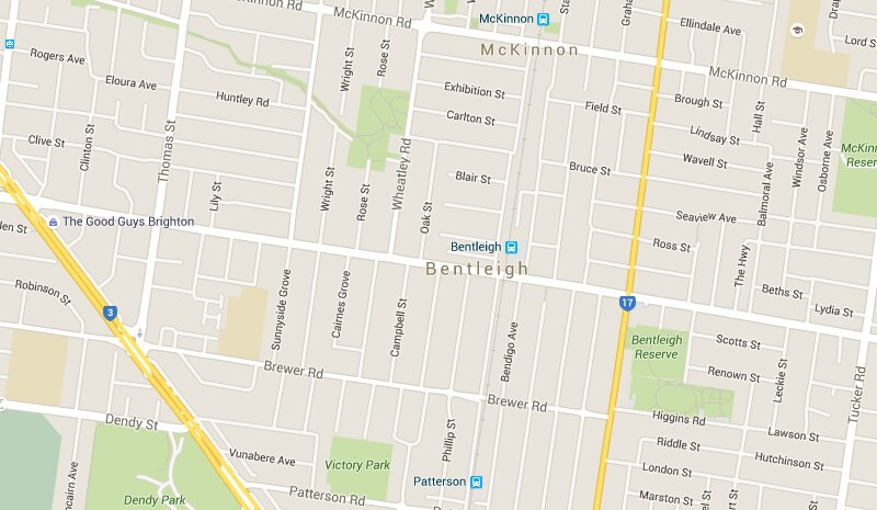 Google Maps: Bentleigh
