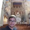 Sinagoga di Roma, sebelah Hebrew Museum. #roma #italia 7 oktober 2016.  Tutup kepala itu menunjukkan bahwa semua pria adalah sederajat di mata Tuhan.  Lemari Taurat selalu membuat yang membuka tirainya menghadap ke Temple Mount, Yerusalem.