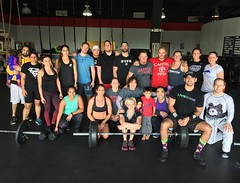#CapitalCrossFit doing their thing today! Great energy, tons of support, and kiddos taking their own class while  parents got in their #fitness fix. #capitalmma #loudouncounty