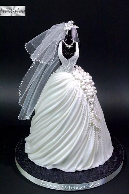 Wedding cake by Mladman Cakes