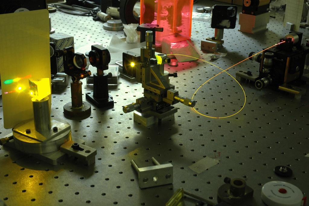 Laboratorio de Electrónica cuántica