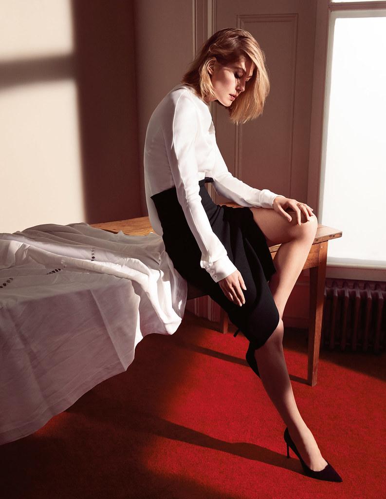 Розамунд Пайк — Фотосессия для «Dior» 2016 – 2