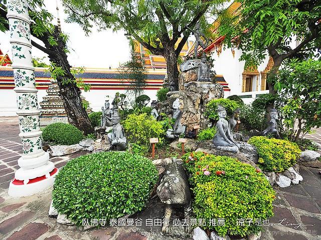 臥佛寺 泰國曼谷 自由行 必去景點 推薦 72