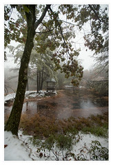 Autumn snow at Mohonk