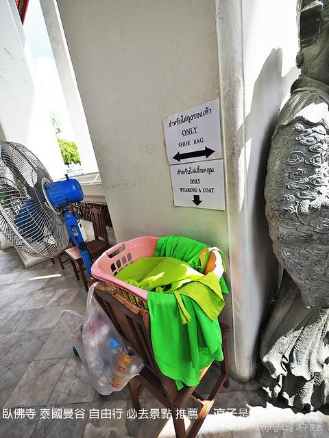 臥佛寺 泰國曼谷 自由行 必去景點 推薦 36