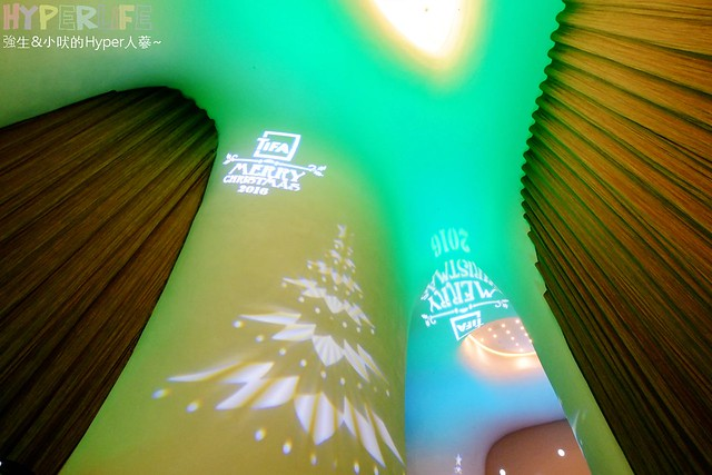 台中歌劇院聖誕燈光秀 (9)
