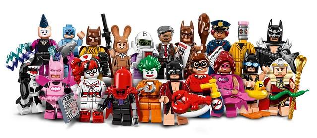 【官圖更新】大熱門的人偶包 - 71017《樂高蝙蝠俠電影》人偶包正式公開~ LEGO Minifigures - The LEGO Batman Movie