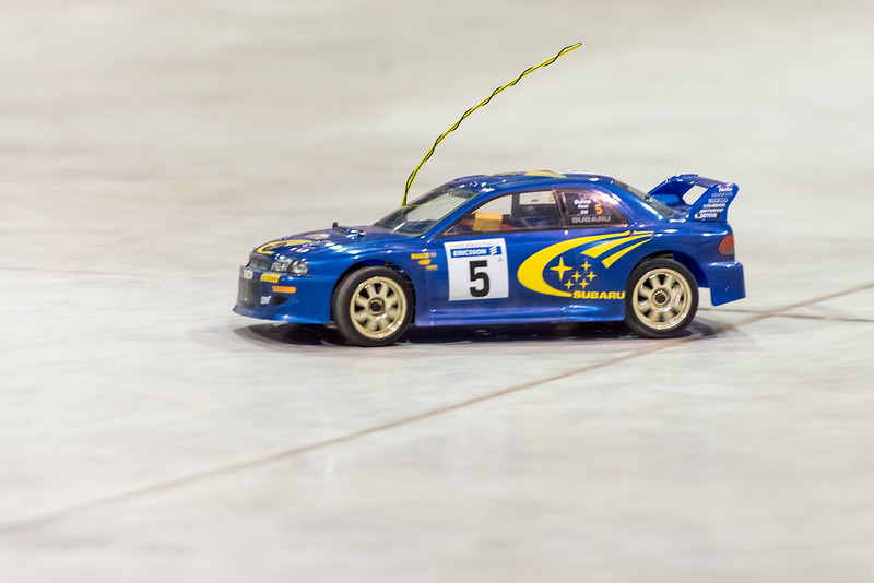 Phil's Impreza WRC now on lipo power.