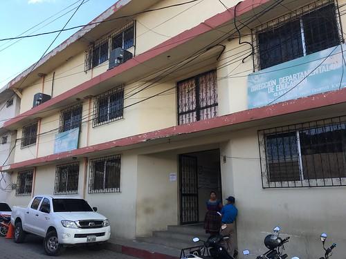 キチェ県教育事務所(DIDEDUC,グアテマラ)