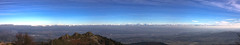 Les Alpes depuis le Pilat