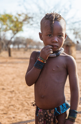 Children from Himba Tribe