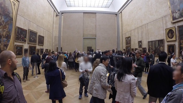 Crowded mona lisa (1)
