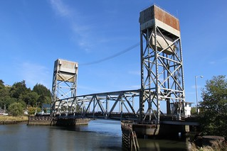 US Hwy 101 (Riverside Ave) Hoquiam River Bridge (Hoquiam, Washington)