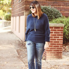 'Cause it's too cold... // On the blog today! sweaterweather #ootd #cincystyle