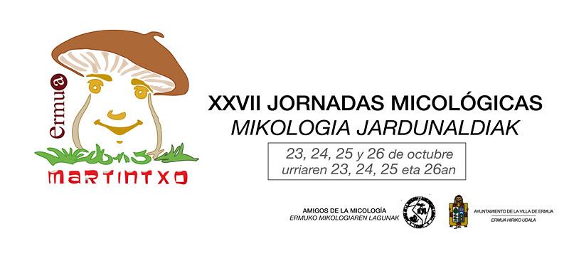 Cartel anunciador de las Jornadas Micol�gicas