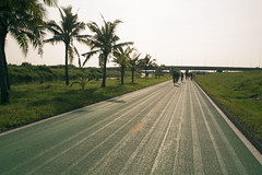 Cycle Track at Suvarnabhumi Airport, Bangkok
