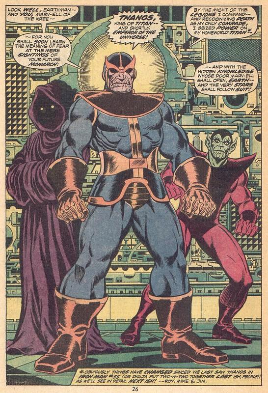 captain marvel thanos cosmic cube
