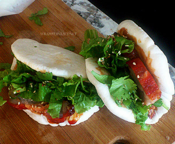 Char Siu Burger (Gua Bao)
