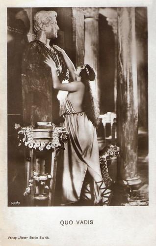 Rina de Liguoro in Quo Vadis? (1924)
