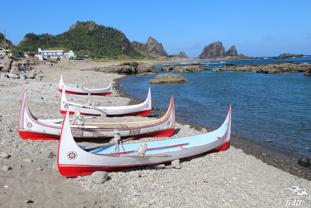 蘭嶼拼板舟_Lanyu Carving Boat46