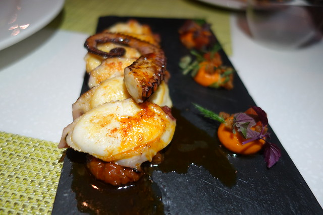 Grilled Octopus - UNA at One Rochester
