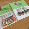 Just got my new stitch markers in the mail. So stinking cute!!!!!