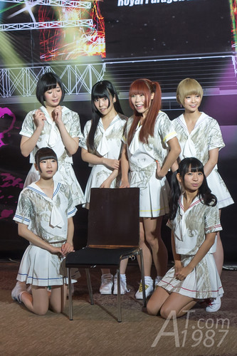 ANIME IDOL ASIA 2014 - Dempagumi.inc photo session