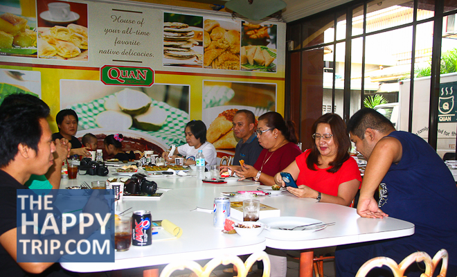 NEGROS BLOGGERS AT QUAN DELICACIES