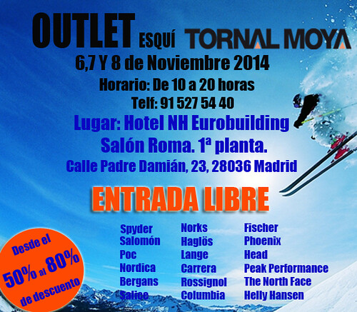 Outlet Tornal Moya 2014