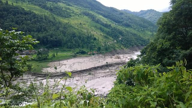 Arniko Highway Flood Damage
