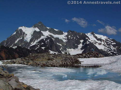 Mount Shuksan from near Huntoon Point, Artist Ridge Trail, Mount Baker-Snoqualmie National Forest, Washington