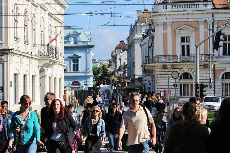 Belgrade center