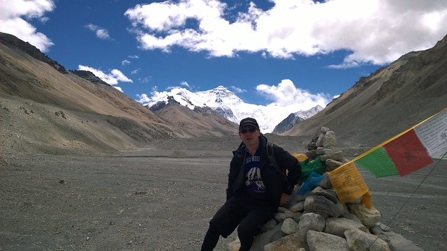 Chomolungma, Mt Everest, Base on a fine day!