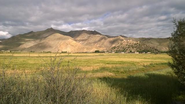Sunlit highlands