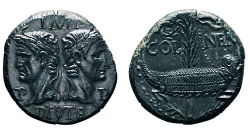 No. 71 AUGUSTUS Dupondius, Nemausus