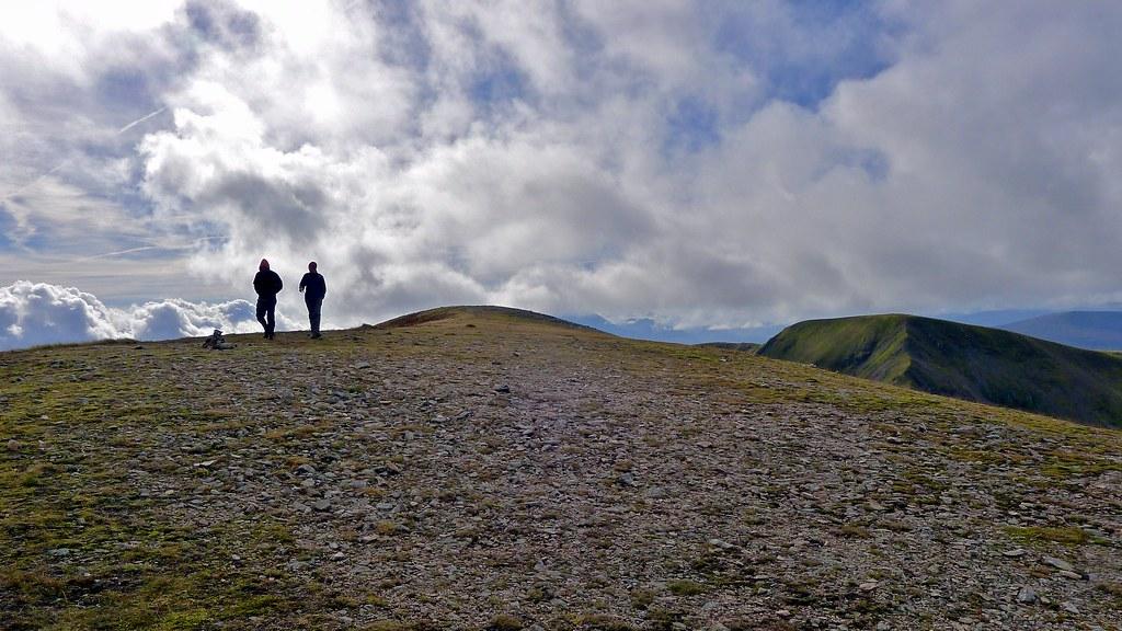 Meall na Teanga summit plateau