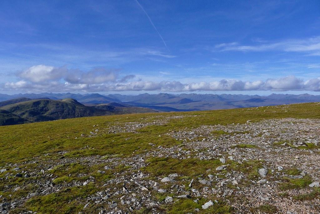 Northwest Highlands from Sron a'Choire Ghairbh
