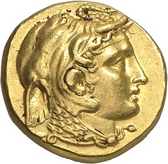 61a PTOLEMY, Satrap of Egypt 323-305. Gold stater