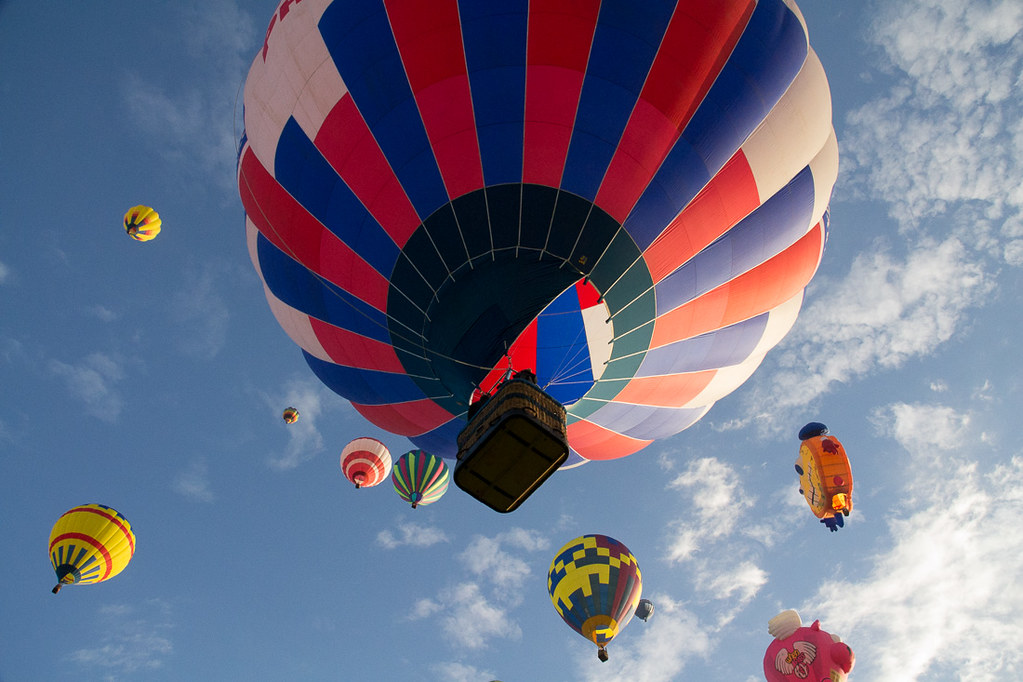 Albuquerque Hot Air Balloon Festival Mass Ascension | New Mexico
