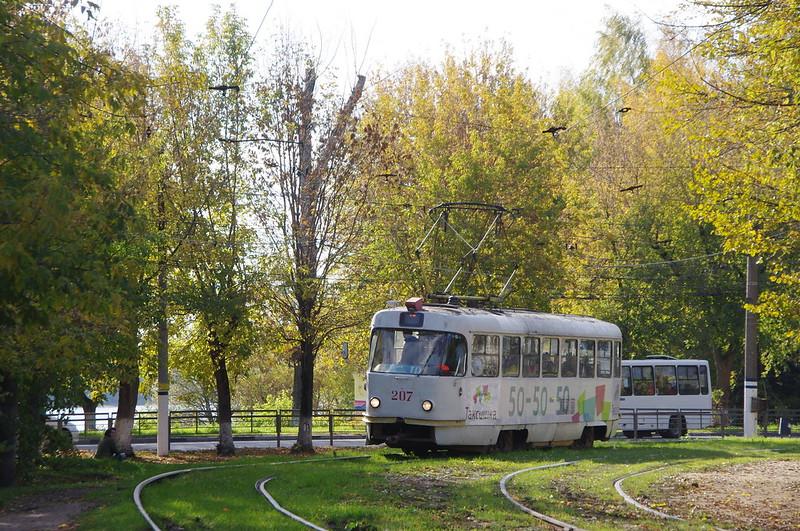 Tver tram Tatra T3 207