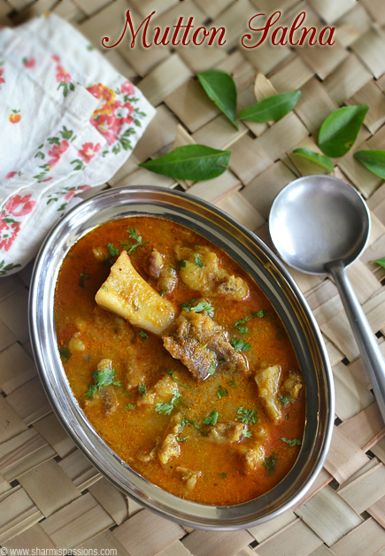 Mutton Salna Recipe