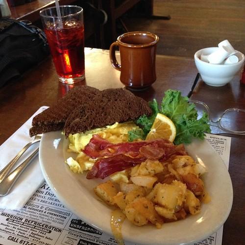 Doyle's Cafe Breakfast. #bmm