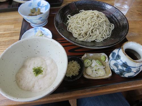 Soba lunch at Mukashi Soba