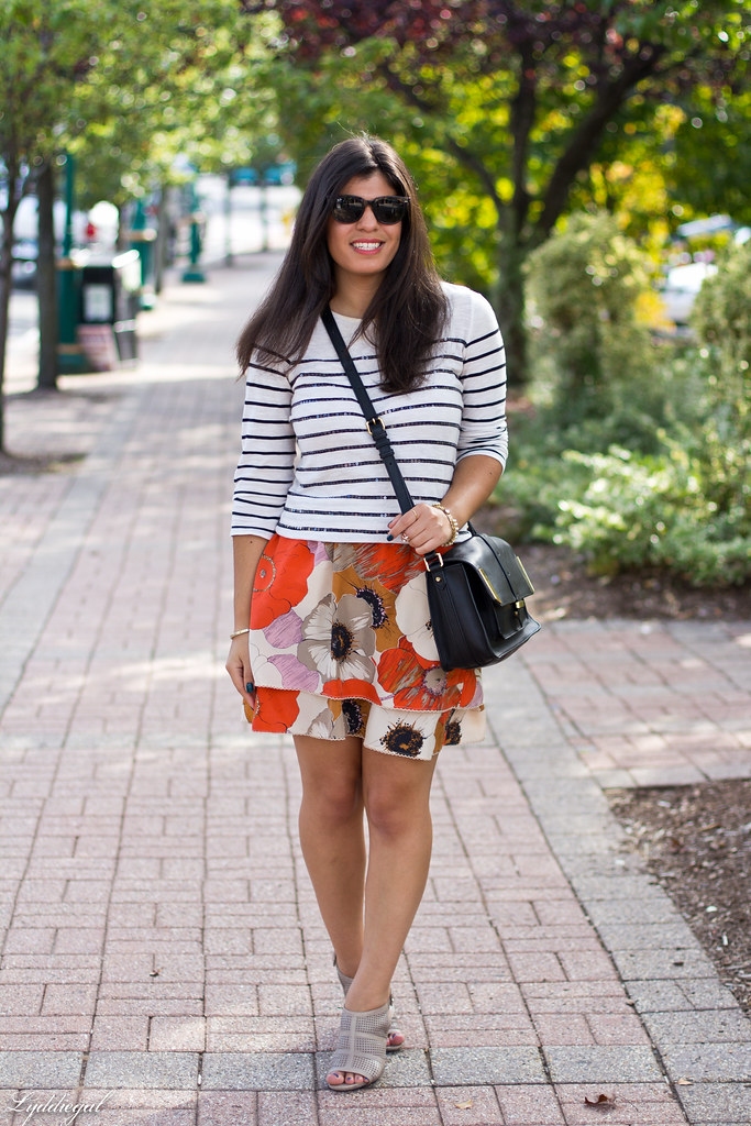 sequin striped tee, floral skirt-3.jpg