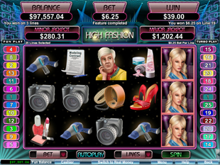 High Fashion slot game online review