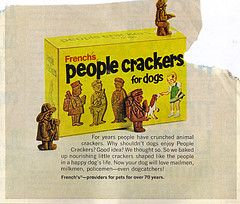 French's People Crackers for dogs (( 1972 ))