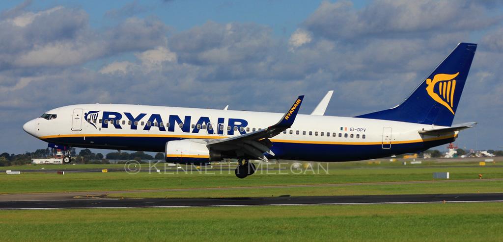 EI-DPV - B738 - Ryanair